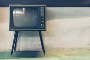 an image of a television