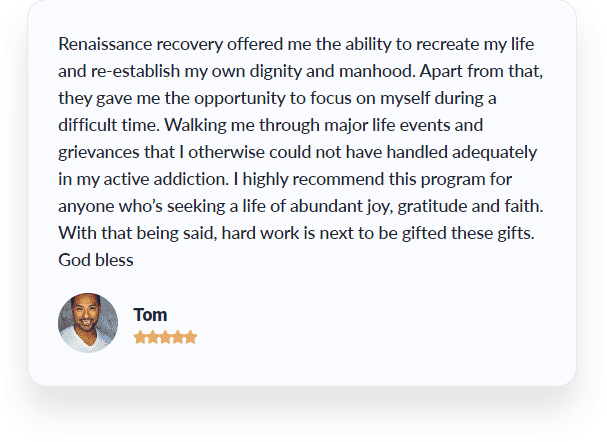 an image of a client review