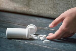 an image representing a drug overdose